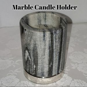 EightMood Porter Marble Candle Holder